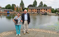 180718 Market Harborough Water Front - Grace & Ron Lampard (Gary Danvers Collection) Tags: england leicester
