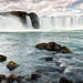 From the Bottom of Godafoss (eScapes Photo) Tags: iceland godafoss waterfall