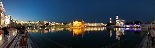 Golden Temple, Amritsar at night
