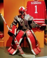High-Tech Hockey Goalie Armour (Will S.) Tags: mypics canadianwarmuseum ottawa ontario canada armour armor