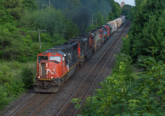 Godspeed Big Jim (Joseph Bishop) Tags: cn 5780 emd sd75i cndundassubdivision brantford trains train track tracks railfan railroad railway rail rails