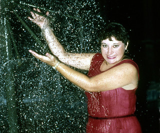 Evening dress drench, 1986