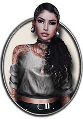 juli2 ([★] Nieηor Sαvirα [★]) Tags: woman meshbodylara style lotd poetic maitreya fashion mandala hair blogging sl secondlife meshhead catwa insol spellbound vinyl