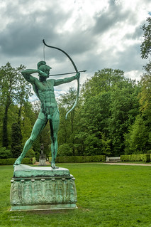 Apollo the Archer, Orangery Palace, Potsdam, Germany