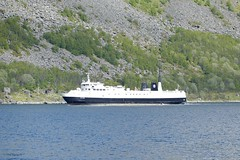 """Stetind"" (OlafHorsevik) Tags: stetind senjafergene senjaferga andfjordferga gryllefjord ferge ferga ferry ferja senja ferje torghattennord thn"