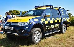 HM Coastguard Mitsubishi L200 Warrior HX64 FZM (policest1100) Tags: hm coastguard mitsubishi l200 hx64 fzm warrior