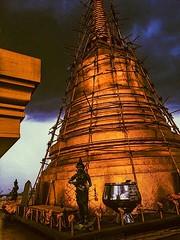 (kateb0625) Tags: travelphotography tourist travel explore goldentemple clouds storm beautiful buddhist buddhism temple thailand bangkok