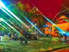 Mosteiro São Bento - São Paulo - Brasil (Leandro Matumoto) Tags: color sãopaulo mosteiro são bento cidade noite luzes lights reflexo pessoas people cities