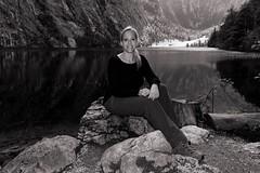 Sunshine (picsessionphotoarts) Tags: fischunkelalm blackandwhite blackandwhiteportrait bw theflickrportraitgallery portrait porträt nikon nikond750 nikonfotografie nikonphotography beautifulwoman woman bayern bavaria deutschland germany berchtesgaden berchtesgadenerland alpen mountains berge see lakeside königssee portraitphotography portraitfotografie afsnikkor28300mmf3556gedvr