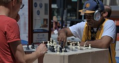 Outdoor Chess (Scott 97006) Tags: chess game guys battle outdoors public