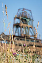 Chatterley Whitfield colliery 03 jul 18 (Shaun the grime lover) Tags: derelict industrial rusty summer wheel chatterley whitfield colliery coal mine chell tunstall staffordshire headgear pithead grass