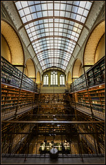 Biblioteca del Rijksmuseum (Totugj) Tags: nikon d5100 sigma 816mm granangular rijksmuseum biblioteca amsterdam paises bajos holanda