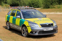 Lincolnshire Emergency Medical Response Skoda Octavia VR Rapid Response Vehicle (PFB-999) Tags: lincolnshire lincs emergency medical response lemr skoda octavia vrs estate rapid vehicle car unit lightbar grilles fendoffs leds fx62llt rescue day 2018