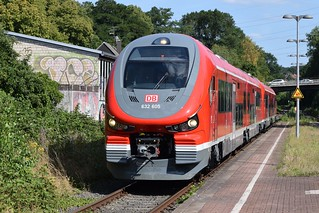 DB Regio 632 105/605 & 632 108/608 in Dortmund-Aplerbeck