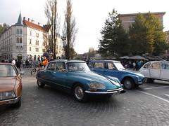 Classic Cars at Prešeren Square II (marco_albcs) Tags: ljubljana lj slovenia slovenija prešeren square trg classic cars view