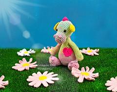 Nessi (Linayum) Tags: crochet ganchillo amigurumi cute handmade daisy margarita linayum