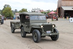 Antique Army Truck (AGSEM1976) Tags: agsem vista ca socal california 92083 parade antique engine tractor show buick army green advance steam sawmill saw mill working condition june event public biannual october