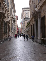 Via Garibaldi (glynspencer) Tags: genova liguria italy it