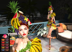 LuceMia - Swank Event (2018 SAFAS AWARD WINNER - Favorite Blogger - MISS ) Tags: swankevent brasil tropicale beauty almamakeup glitterposes poses lipstick irrisistible event sl secondlife mesh fashion creations blog hud colors models lucemia
