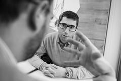 Arturo Méndiz (Álvaro García Fuentes) Tags: enpause entrevista arturomendiz cine corto goya madrid asanleo nikon 2017 palomitas españa
