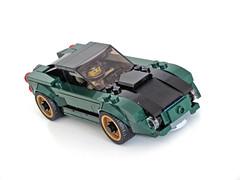 75884 GT front (NKubate) Tags: lego speedchampions alternate 75884 mustang corvette nkubate