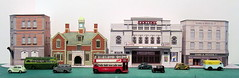 Barking buildings (kingsway john) Tags: card kits models 176 scale oo gauge kingsway