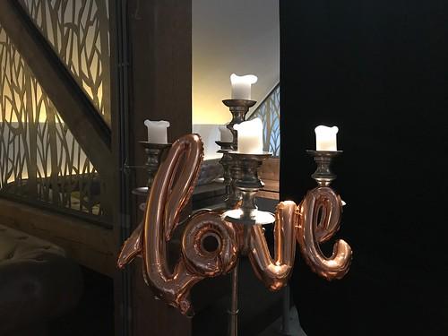 Folieballon Letters Love Heeren van Ambacht Hendrik Ido Ambacht