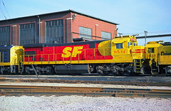 AT&SF SF30C 9534 (Chuck Zeiler) Tags: atsf sf30c 9534 railroad ge locomotive corwithy chicago train chuckzeiler chz