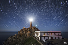 Faro Cabo Vilán - Camariñas ISS (albertoleiras) Tags: canon1740f4l canon6d farocabovilán camariñas acoruña galicia startrails stars circumpolar nocturna