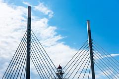 Malmö (drasphotography) Tags: malmö sweden architecture architektur lighthouse bridge brücke ponte sky himmel cielo drasphotography schweden d810 travel travelphotography reise reisefotografie city cityscape geometric