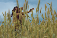 IMG_5094 (andreilazarev) Tags: field wheat wheatfield man human people maninnature maninfield humaninnature humaninfield ilobsterit dread dreadlocks nature forest village body bodyparts naked nakedman hands arms manarms manhands childhood freedom free love happy happyness movement move moving motion dance weekend travel vacation