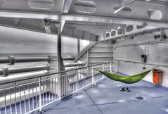 Hammock Journey Hook of Holland - Harwich (Jimmy Langeveld) Tags: hangmat schip northsea hammock stena ship