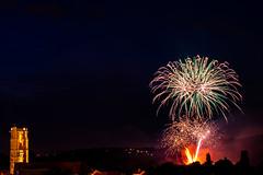 14 juillet 2018 (Meculda) Tags: artifice 14 juillet france nuit lumière feux couleur église fireworks nationalday fête nationale exposition
