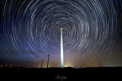 Over the time. (Andrés Gallego) Tags: nikon d750 longexposure landscape stars spain night laowa largaexposicion long laowadzero startrails
