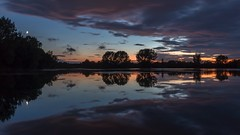 St Chads Water, Draycott (alexcalver) Tags: sunset bluehour efs1018mmwideanglelens canon80d derbyshire draycott stchadswater