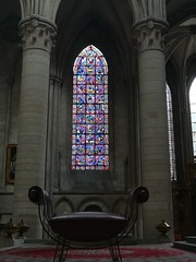 A look inside at a beautiful church in Rouen