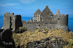 IMG_1803-zp3f-on-zp2-crp1barpin-12-logo1 (KitePhotography) Tags: vacation travel castle ireland landscape architecture building medieval ruins outside daylight day northernireland northern canon canoneos sl1 rebel 100d rock rocks tamron tamronaf16300mmf3563diiivcpzdmacro tamron16300