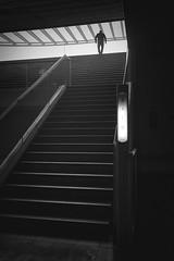 S a i d a II (Vesa Pihanurmi) Tags: streetphotography stairs street station orient lisbon lisboa calatrava architecture urban character figure garedooriente