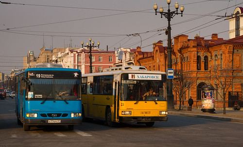 Khabarovsk city bus: Daewoo BS106 # А774РУ 27