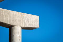 abutment (fallsroad) Tags: tulsaoklahoma city urban highway abstract arkansasriver riversidepark bridge