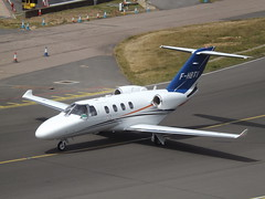 F-HBTV Cessna Citation M2 Aston Jet (Aircaft @ Gloucestershire Airport By James) Tags: luton airport fhbtv cessna citation m2 aston jet bizjet eggw james lloyds