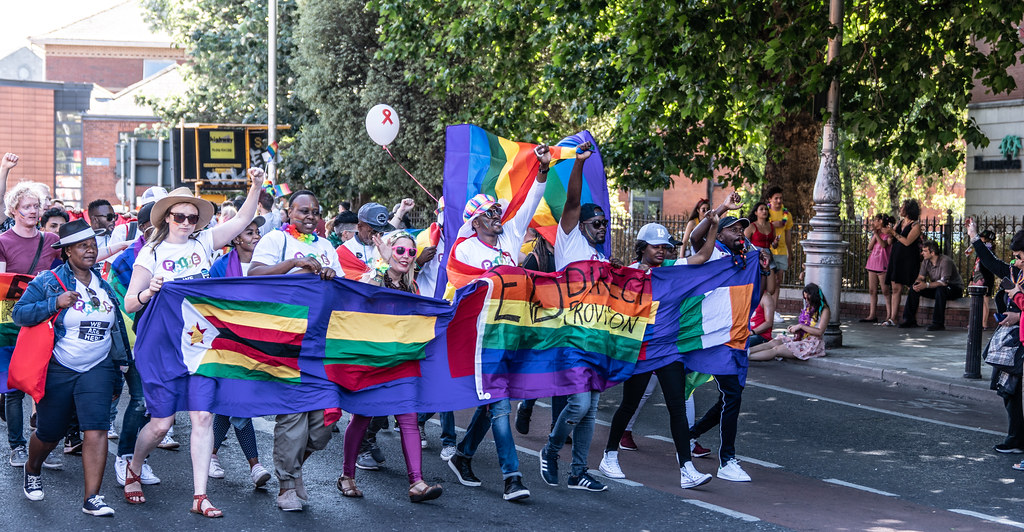 ABOUT SIXTY THOUSAND TOOK PART IN THE DUBLIN LGBTI+ PARADE TODAY[ SATURDAY 30 JUNE 2018] X-100159