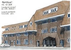 Maastricht (gerard michel) Tags: nederland maastricht architecture sketch croquis