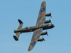 BBMF Avro Lancaster Flypast (davepickettphotographer) Tags: bbmf battleofbritainmemorialflight avrolancaster lancaster bomber secondworldwar flypast uk bedfordshire biggleswade aircraft aviation flight flying