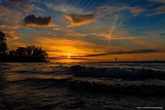See you again... Soon! (Yarin Asanth) Tags: evening sunlight golden waves water sundown sunset lakeconstance gerdkozikfotografie yarinasanthphotography