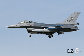 J-630 Royal Netherlands Air Force Fokker F-16AM Fighting Falcon