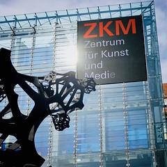 Das Bild hängt doch schief (bornschein) Tags: museum architektur kunst germany badenwürttemberg city karlsruhe