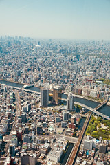 Skytree Views (NatalieTracy) Tags: tokyo japan tokyoskytree skytree city observationdeck skyline skyscrapers observationtower metropolis