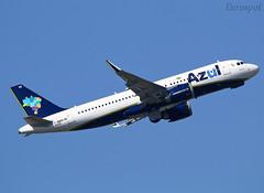 F-WWDH Airbus A320 Azul (@Eurospot) Tags: pryrr fwwdh airbus a320 neo azul toulouse blagnac