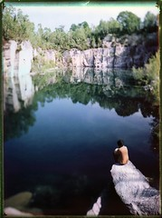 Am Steinbruch-See (Bastiank80) Tags: fp100c45 steinbruch lake see fuji